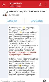 🌟8TH TIMES BEST SELLER IN CAROUSELL🌟