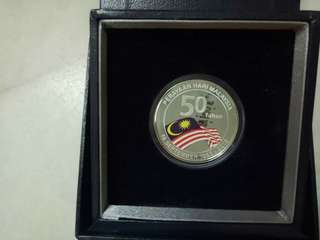 Malaysia Silver Proof Single