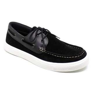Sepatu casual pria BLAX Footwear - Casilo Black