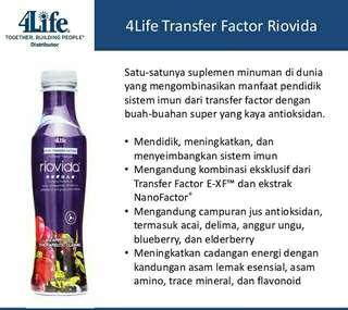 4Life Transfer Factor RioVida Tri-Factor Formula