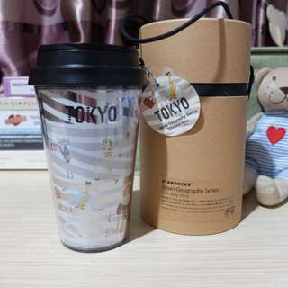 Starbucks Tumbler TOKYO Geographic Series