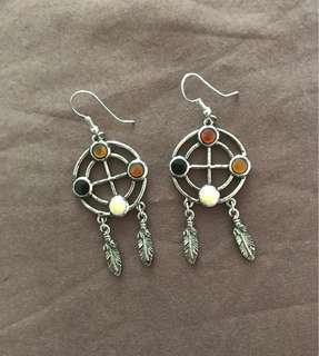 Native style earrings