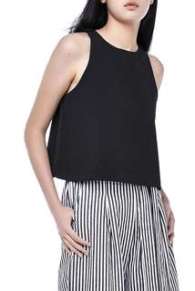 The editor's market Low back black top