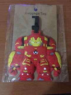 Hulkbuster Avengers Luggage Tag