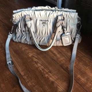 Preloved Prada Tessuto 2 way bag