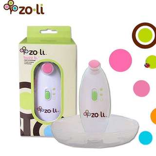 Zoli BuzzB Nail Trimmer makes trimming baby's nails easier and less daunting