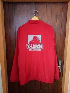 XLARGE x CHAMPION Coach Jacket sz Medium