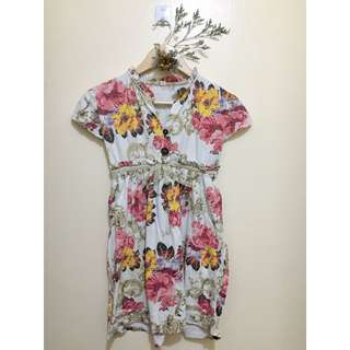 FLORAL SMALL DRESS