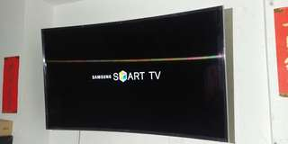 Samaung 48吋 曲面 4K 3D UA48JU7800 電視