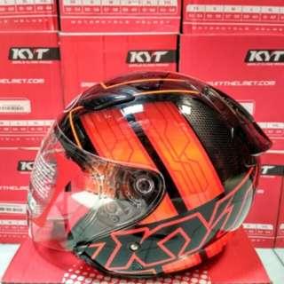 Helmet KYT DJ maru motif