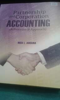 Partnership & Corp Accounting A Procedural Apprroach 2016 Ed by Nick Aduana