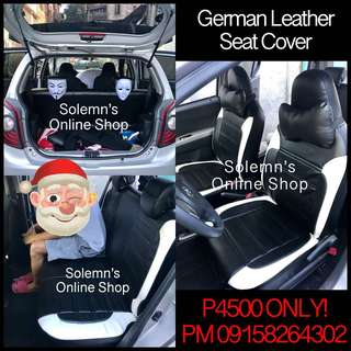 Brand NEW. Complete Set of German Leather Seat Cover