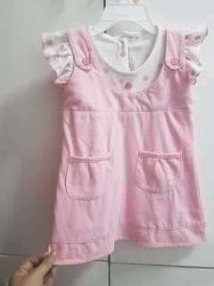 Baby girl's dress - M