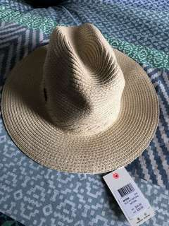 Brand New! Beach Straw Summer Hat. A-M. BNWT. RRP $39.