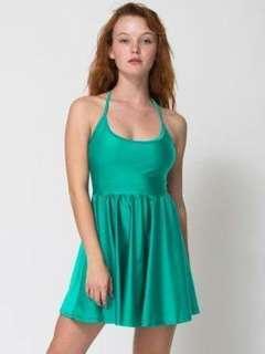 American apparel Green skater dress