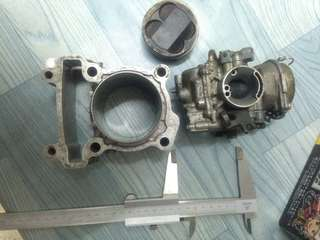 Racing Block Kit Ceramic LC135 65mm & LC135 V2 Carb