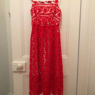Rodeo Show Lace dress Sz 6