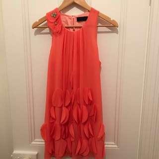Nicola Finetti Silk Dress -Sz 6