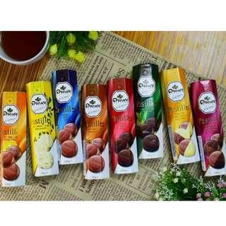 (限時特價)荷蘭Droste 巧克力條 100g 滿天星 / 醇黑 / 牛奶 / 苦甜 / 橙香