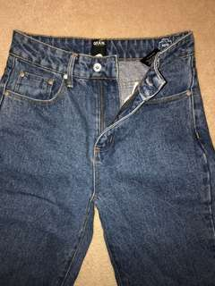 High waisted mom jeans brand new size 6