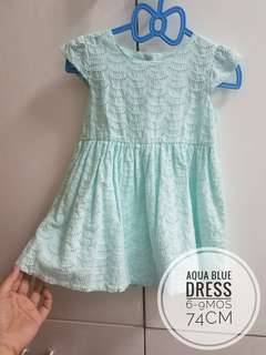 Girl's dress - 6-9mos