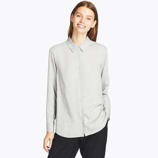 UNIQLO rayon blouse
