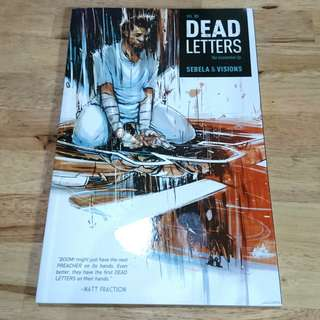 Dead Letters TPB graphic novel by BOOM! Studios