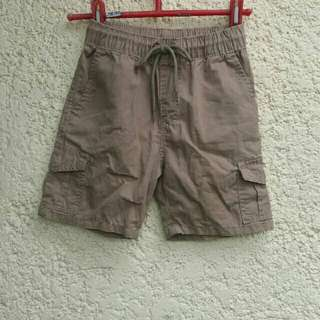 Red tag overrun khaki toddlers shorts
