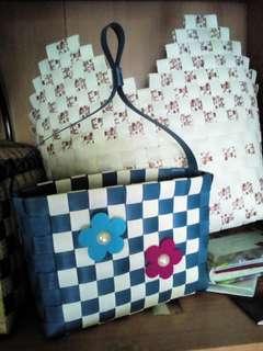 Craft 'anyaman plastik'