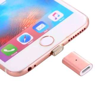 Magnetic Adoptor for Lightning Cable (Makes your Cable Magnetic)
