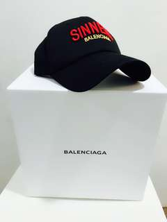 👱♂️👱♀️ Authentic BALENCIAGA SINNERS Cap, Unisex, Restock!!