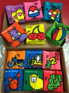 Lakarose cloth books set of 12