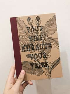 Vibe Attracts Your Tribe Notebook