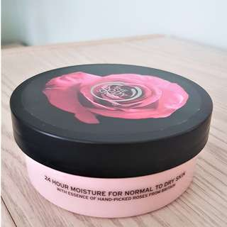The Body Shop - British Rose body butter