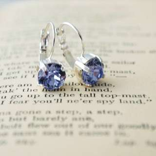 Swarovski Provence Lavender Earrings