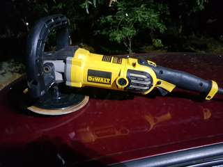 Dewalt buffing machine