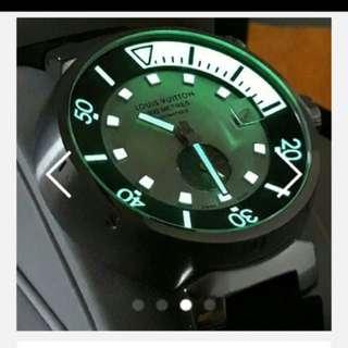 Rolex Tudor IWC Not LV 機械蕊潛水錶