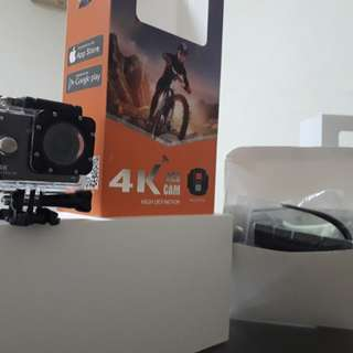 4K RES CAM FULL HD 1080 TELECONTROLER