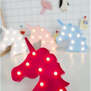 Unicorn tumblr light
