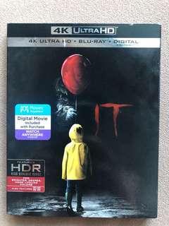 IT 4K Ultra HD + Blu-Ray + Digital Pennywise