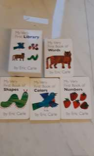 eric carle first library