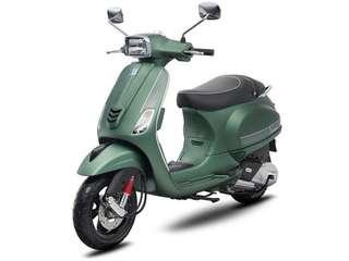 Vespa S 125 iget (green matt) (PROMO EVENT)