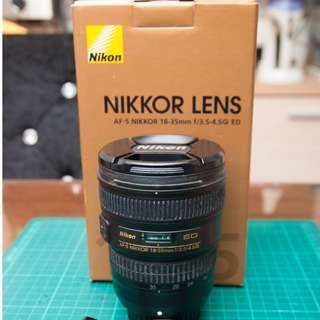 Nikkor AF-S 18-35mm f3.5-4.5G ED (公司貨已過保)