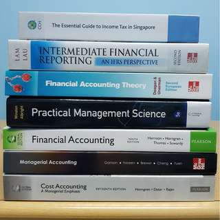 ✨SUSS Accounting Textbooks 📚