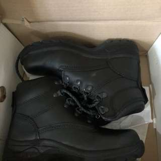 Lace Up Ankle Boots Black
