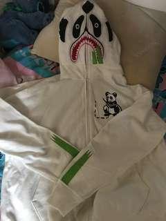 全新 Bape 外套 熊貓 鯊魚 Zipup