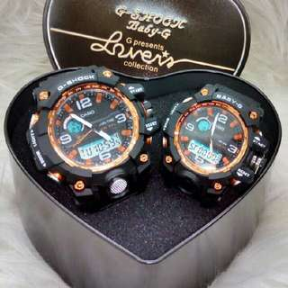 GShock Couple Watch - Complete Set Preorder Only