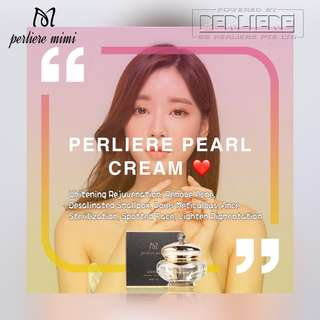 Perliere Pearl Cream (old version)