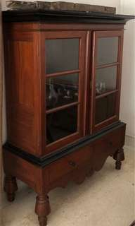 Anglo Indian display cabinet