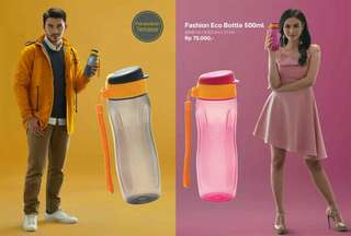 Tupperware Eco fashion pink or grey (1)